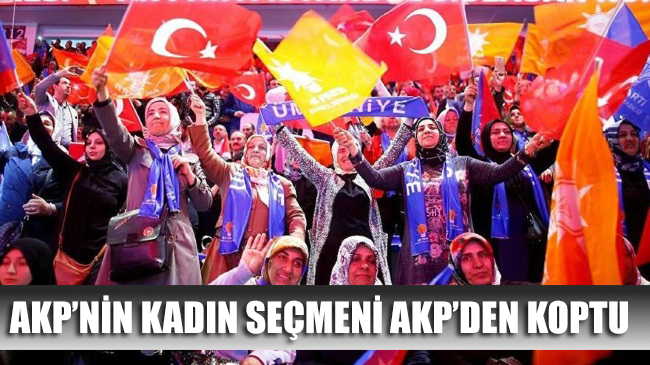 Kadın seçmenler AKP'den kopuyor