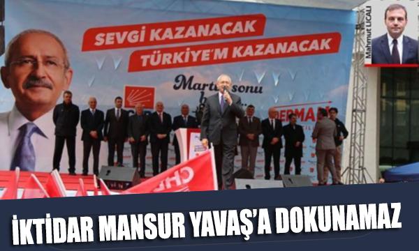Kılıçdaroğlu: 'İktidar Mansur Yavaş'a dokunamaz'