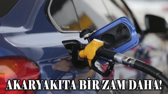 Motorin ve benzine zam!