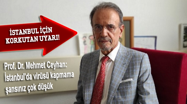 Prof. Dr. Ceyhan'dan İstanbul için korkutan açıklama: Şansınız çok düşük