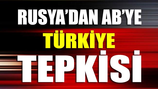 Rusya'dan AB'ye Türkiye tepkisi