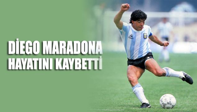 SON DAKİKA... Kalp krizi geçiren efsane futbolcu Diego Maradona hayatını kaybetti