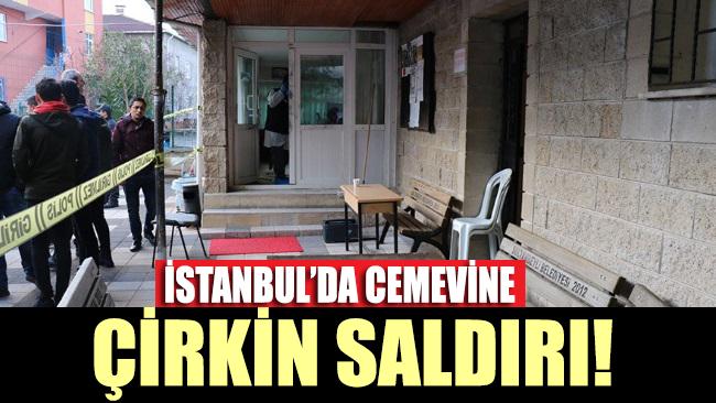 Sultanbeyli'de cemevine çirkin saldırı!