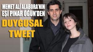 Gezi Davası kararının ardından Memet Ali Alabora'nın eşi Pınar Öğün'den duygusal tweet