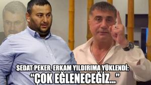 Sedat Peker, Erkam Yıldırım'la ilgili açıklamalarda bulundu: Yeni bir mecraya geçeceğiz, vallahi çok eğleneceğiz
