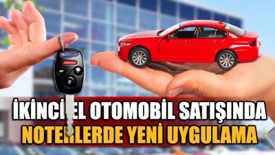 2. el otomobil satışı için yeni dönem!