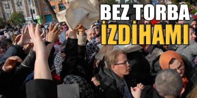 2019 Türkiye Manzaraları! Gölcük'te Bez Torba İzdihamı