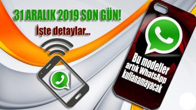 31 Aralık 2019 son gün… Bu modeller artık WhatsApp kullanamayacak!