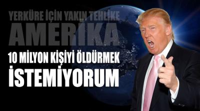 ABD Başkanı Donald Trump:
