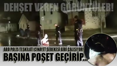 ABD polisi, cinayet şebekesi gibi çalışıyor! Siyahi adamı başına poşet geçirip boğarak öldürdüler