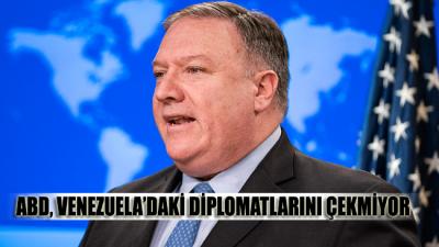 ABD, Venezuela'daki diplomatlarını çekmiyor