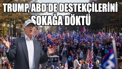 ABD'de Trump destekçileri sokaklara çıktı