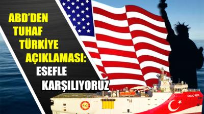 ABD'den tuhaf Türkiye açıklaması: Esefle karşılıyoruz