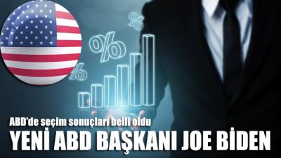 ABD'nin yeni başkanı Joe Biden oldu