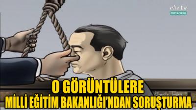 Adnan Menderes'in idam görüntülerine bakanlıktan soruşturma