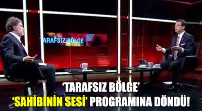 Ahmet Hakan'ın 'Tarafsız Bölge' programı 'Sahibinin Sesi' programına döndü!
