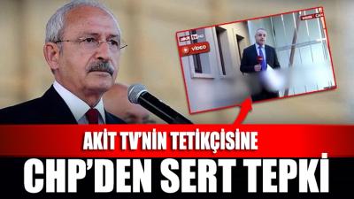 Akit TV'nin skandal Kılıçdaroğlu haberine CHP'den sert tepki
