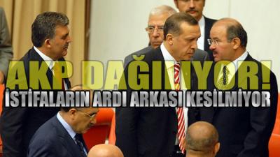 AKP'de istifa fırtınası sessiz sedasız sürüyor