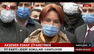 Akşener: AK Parti genel başkanlığından sıyrılıp hepimizin Cumhurbaşkanı olmayı istemedi