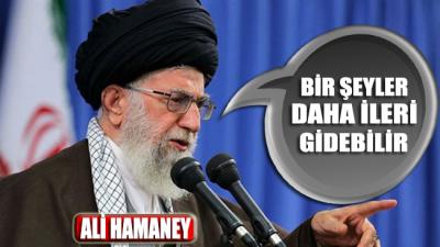 Ali Hamaney: Bir şeyler daha ileri gidebilir