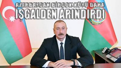 Aliyev sosyal medya hesabından duyurdu: Madagiz'de Azerbaycan bayrağı göndere çekildi