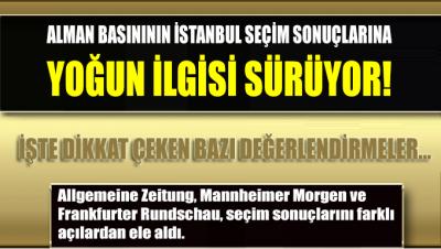Almanya'da Ekrem İmamoğlu'nun İstanbul zaferinin yankıları sürüyor