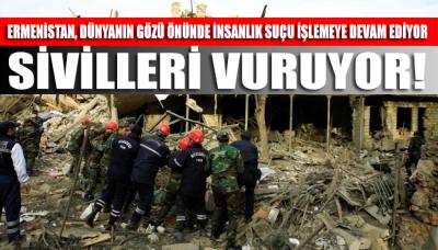 Ateşkesten saatler sonra Ermenistan sivilleri vurdu: Çok sayıda ölü ve yaralılar var