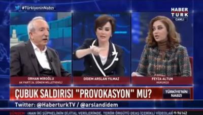 Avukat Feyza Altun, AKP'li Orhan Miroğlu'nu kendi sözleriyle alabora etti!