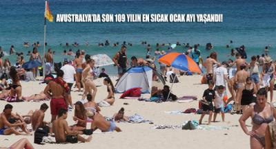 Avustralya'da 109 yılın en sıcak Ocak ayı yaşandı