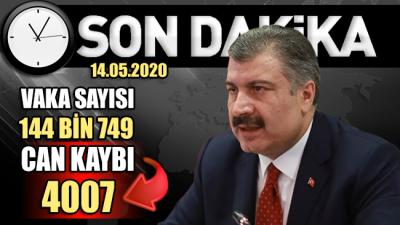 Bakan Koca'dan Türkiye'deki güncel corona verileri