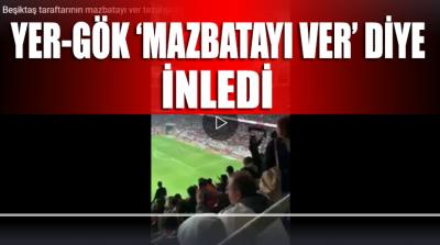 Beşiktaş-Başakşehir maçında yer gök inledi: Mazbatayı ver