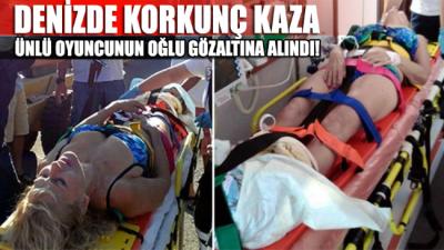 Bodrum'da feci kaza! Ünlü oyuncunun oğlu gözaltına alındı