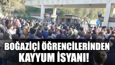 Boğaziçi Üniversitesi öğrencileri kayyuma karşı ayakta