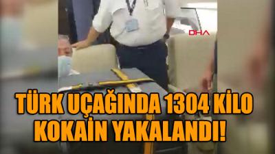 Brezilya polisi Türk uçağında 1304 kilo kokain yakaladı