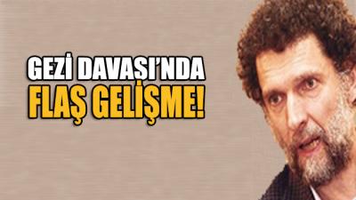 Bugün görülen Gezi Davası'nda Osman Kavala hakkında flaş karar!
