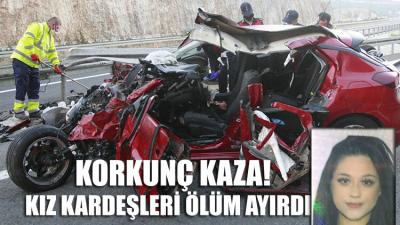 Bursa'da feci kaza... Meltem öldü, kardeşi ağır yaralı