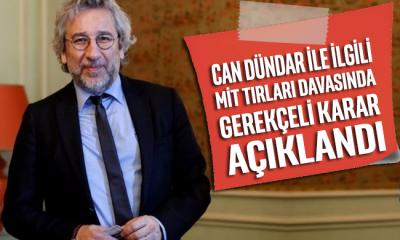 Can Dündar ile ilgili MİT TIR'ları davasında gerekçeli karar açıklandı