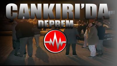 Çankırı'da deprem meydana geldi, Ankara'da hissedildi!