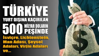 CHP Amerika Temsilciliği Yeni Off-Shore Raporu Hazırladı: Türkiye yurt dışındaki 500 milyar doların peşinde