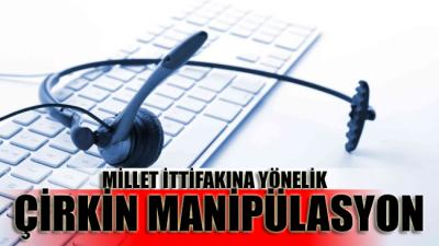 CHP ve İYİ Parti seçmenine yönelik skandal anket manipülasyonu