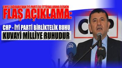 CHP'li Ağbaba'dan İYİ Parti'yle ilgili flaş açıklama