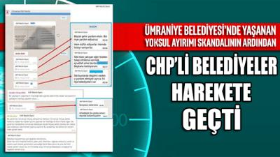 CHP'li belediyeler, skandal sonrasında Ümraniye'de yardım için dayanışma hattı kurdu