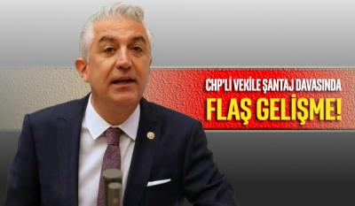 CHP'li vekile şantaj soruşturmasında 1'i polis 3 kişi tutuklandı
