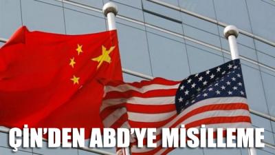 Çin'den ABD'ye misilleme: Vize ve yaptırım uygulayacaklar