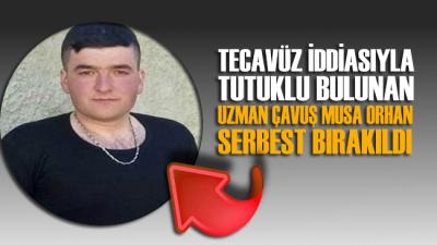 Cinsel saldırı iddiasıyla tutuklanan Musa Orhan 7 gün sonra serbest bırakıldı