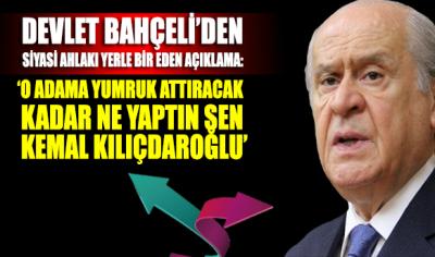 Devlet Bahçeli'den siyasi ahlakı yerle bir eden Kılıçdaroğlu açıklaması