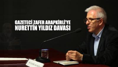 Duayen gazeteci Zafer Arapkirli'ye, Nurettin Yıldız davası