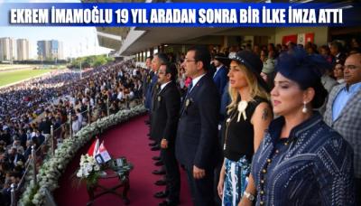 Ekrem İmamoğlu 19 yıl sonra! Jokey Ahmet Çelik'ten 'Her şey çok güzel olacak' sloganı