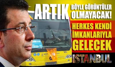 Ekrem İmamoğlu: Maltepe'ye İETT otobüslerini tahsis etmedik