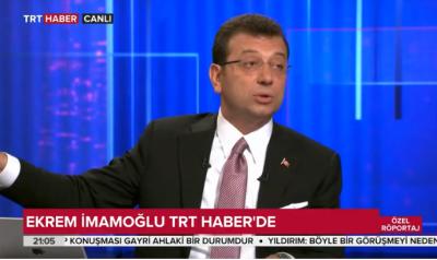 Ekrem İmamoğlu TRT Haber Canlı yayında soruları yanıtladı